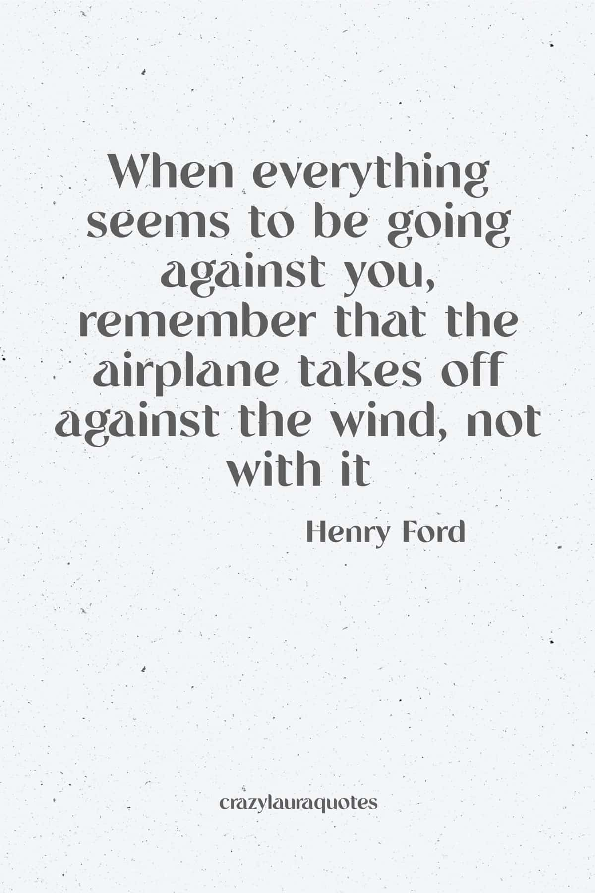 henry ford motivational quote to start the week