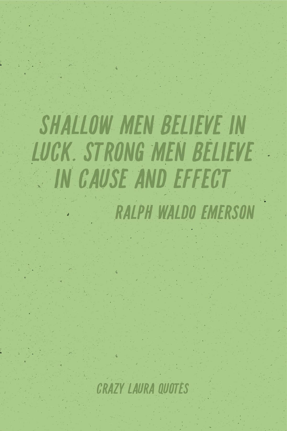 strong men short saying