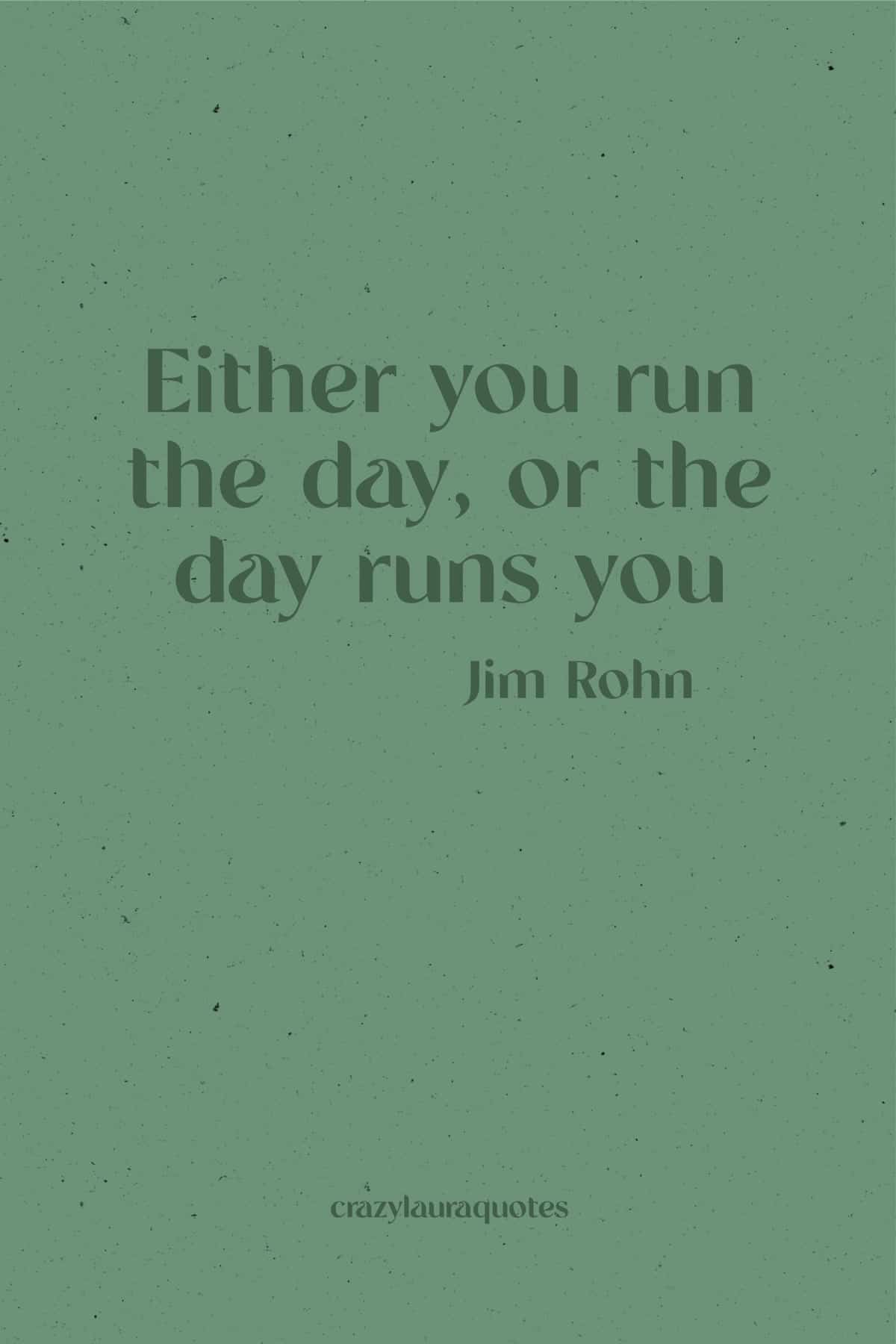 jim rohn quote about taking control