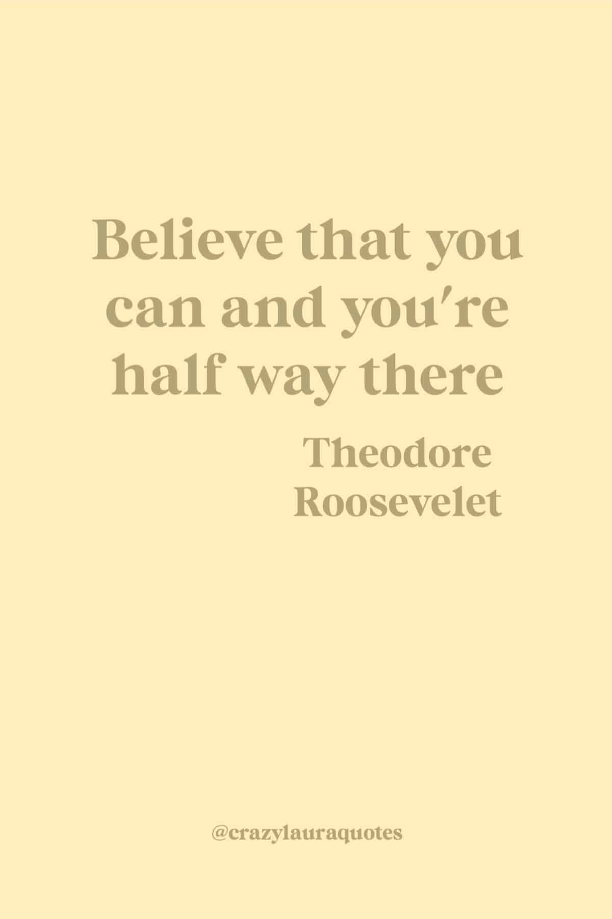 workout quote about belief