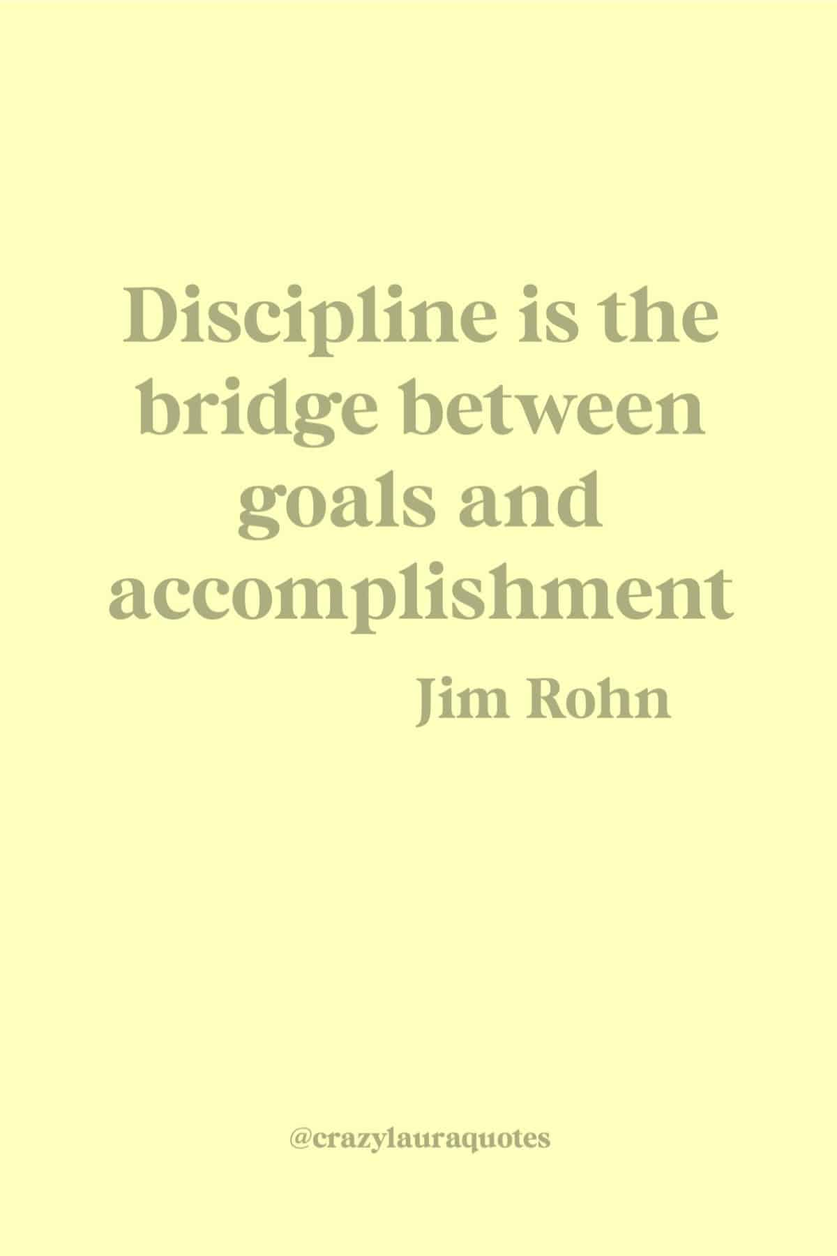fitness discipline quote by jim rohn