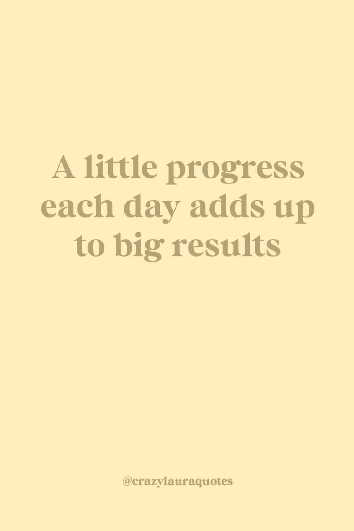 inspiring quote about seeing results
