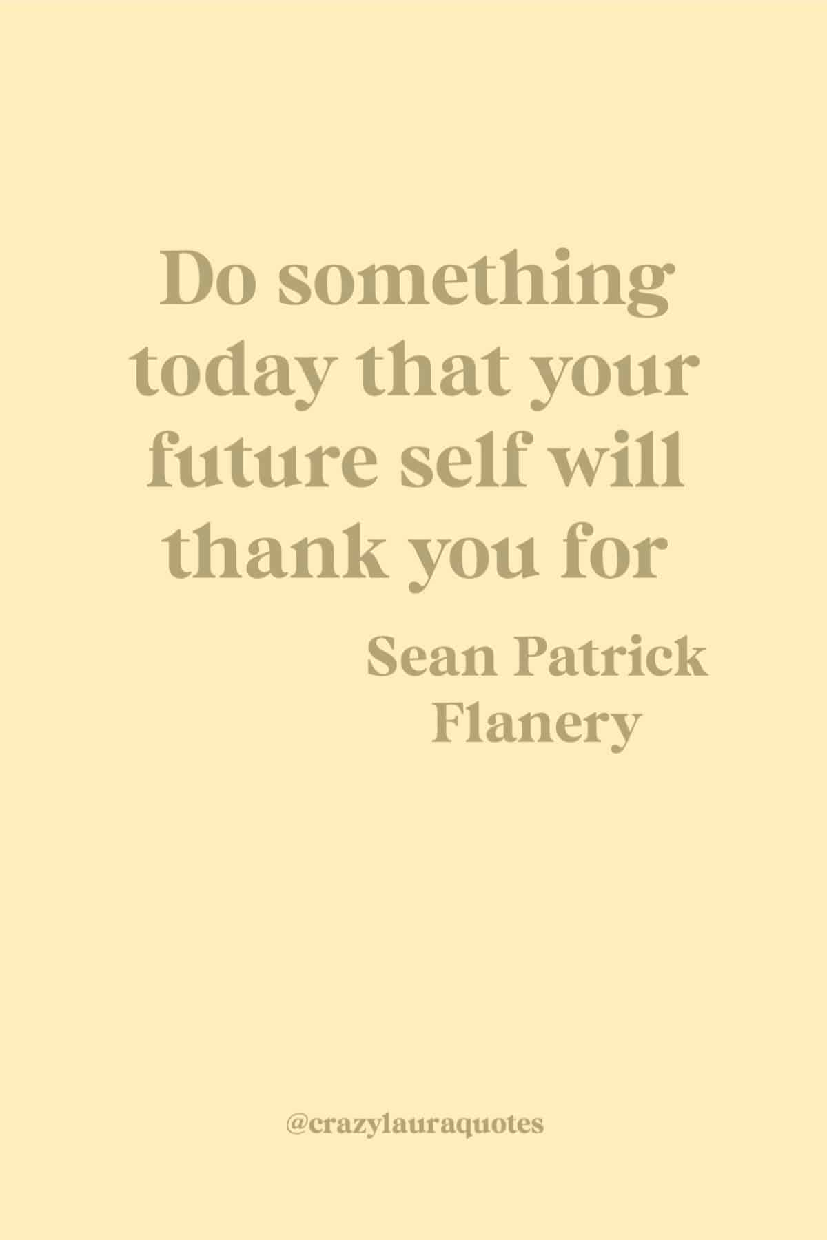 fitness quote about the future you