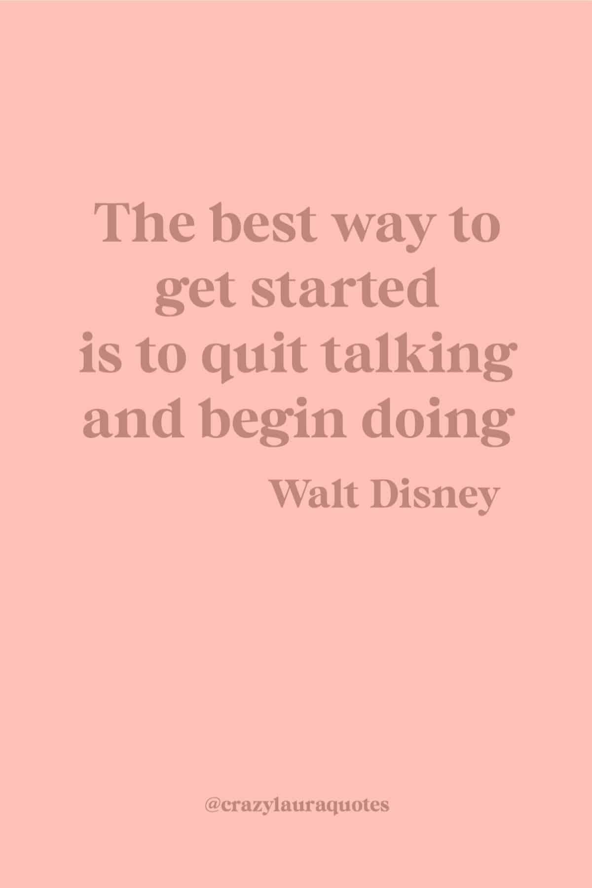 gym quote about getting started