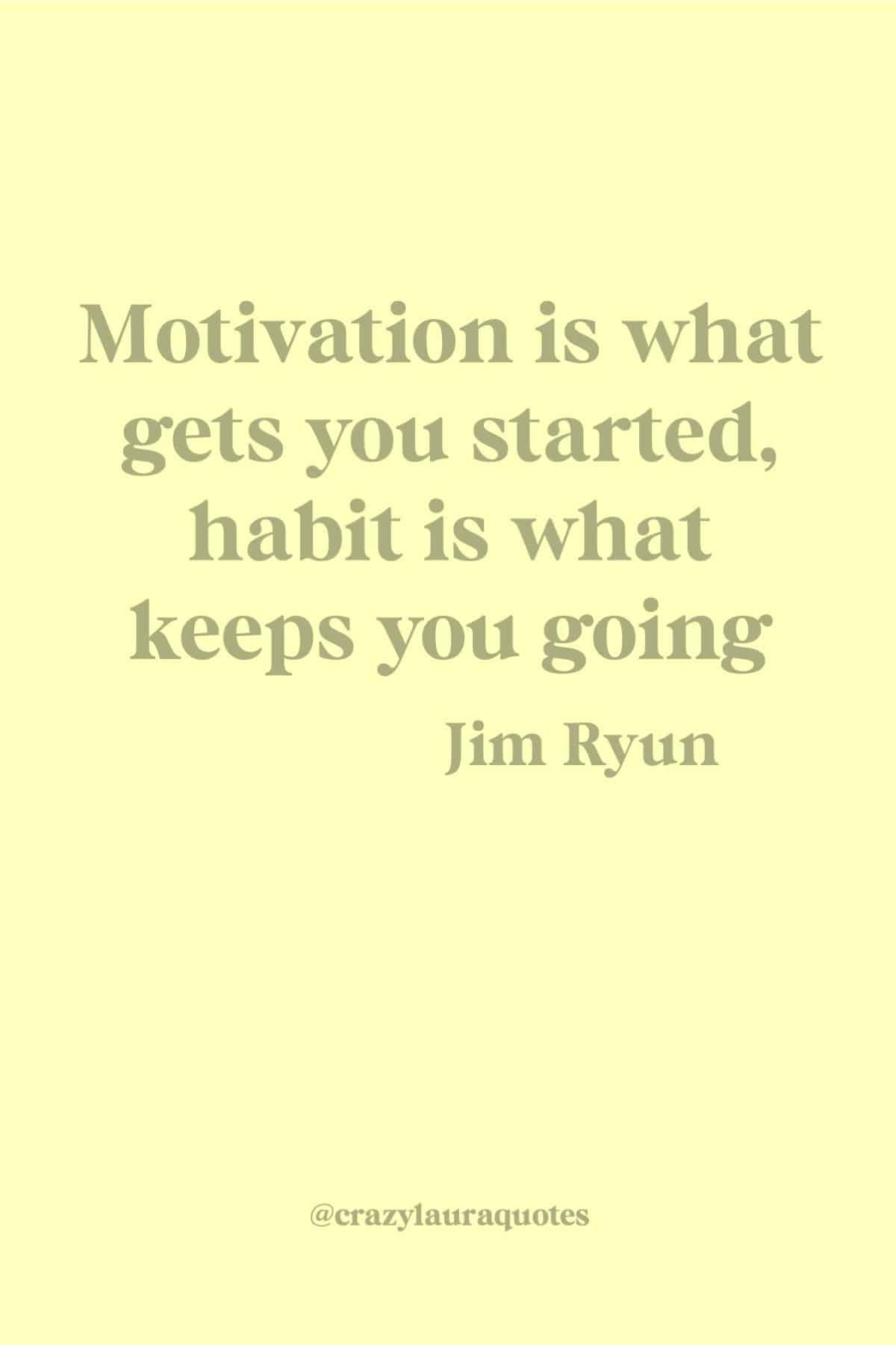 fitness habit quote to motivate