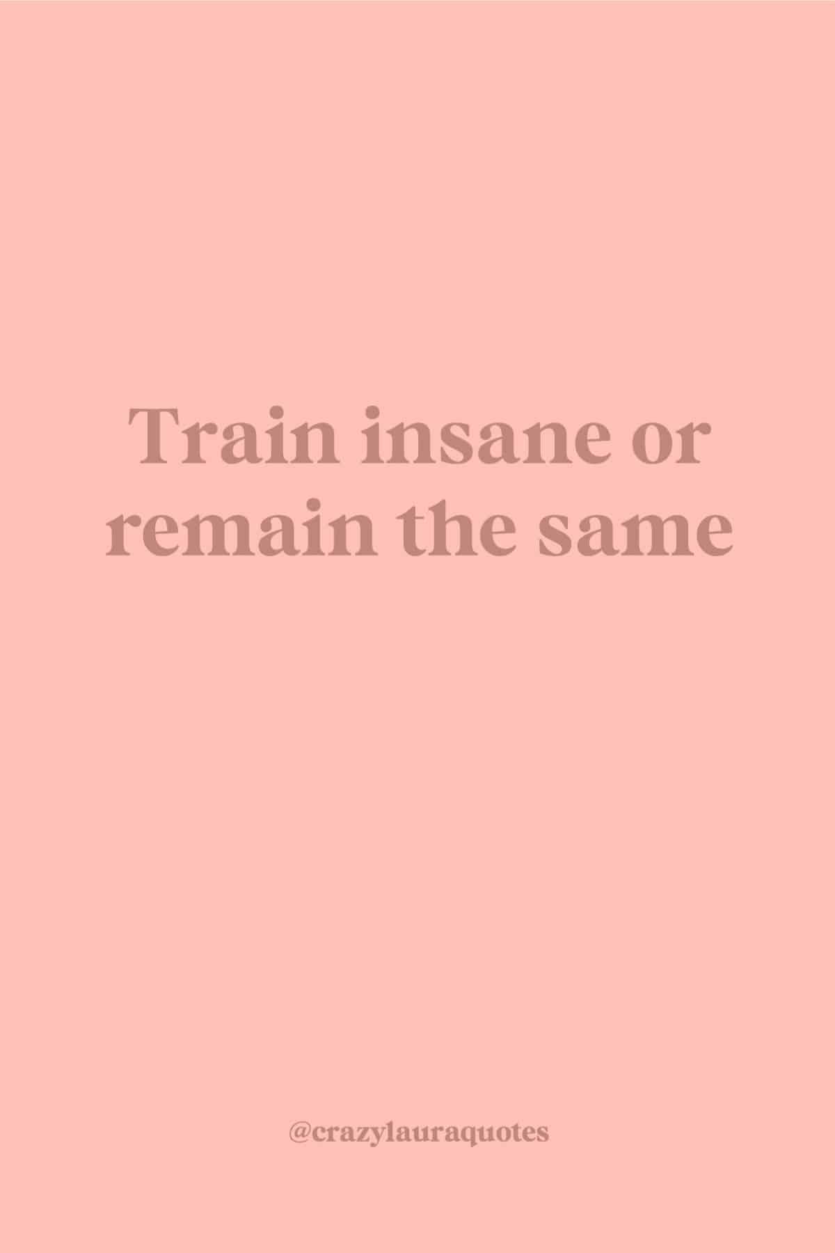 motivational training quote